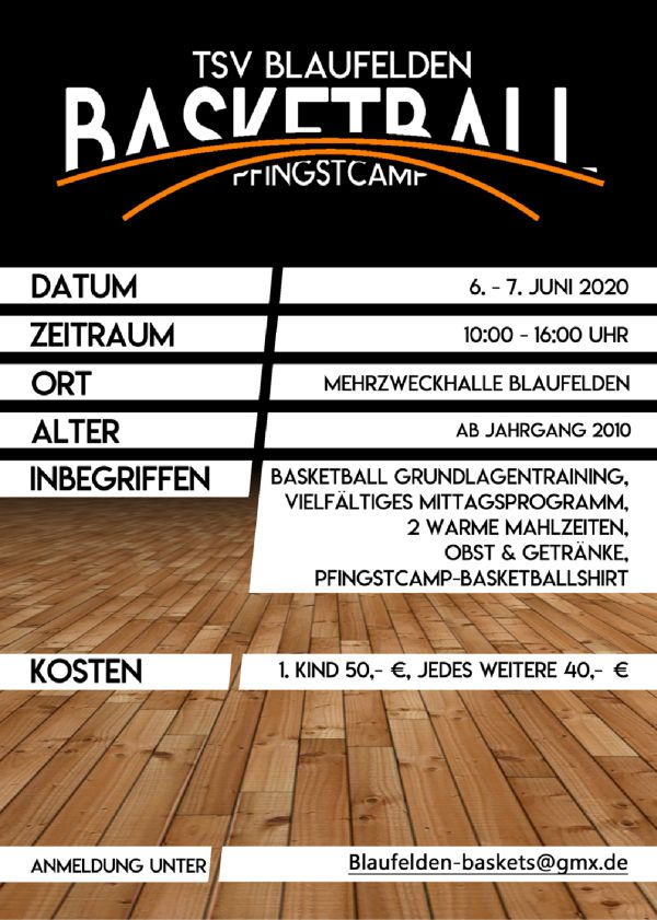Baskets Pfingstcamp 2020